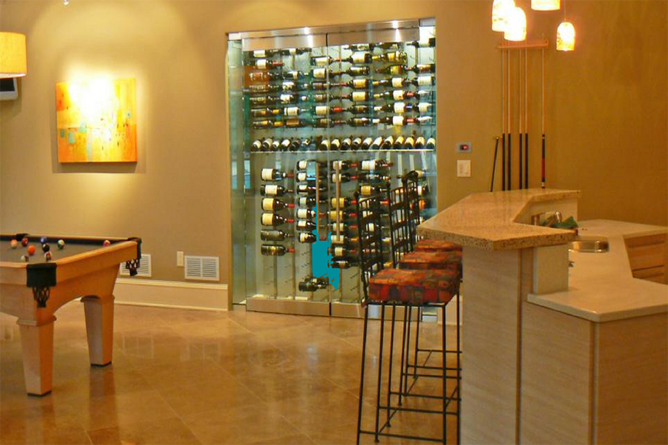 Basement Wine Cellar